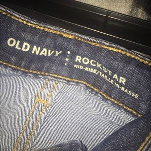 Old Navy Jeans - 💙🖤Old Navy Rockstar Jeans Like New